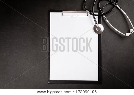 Doctor's working table