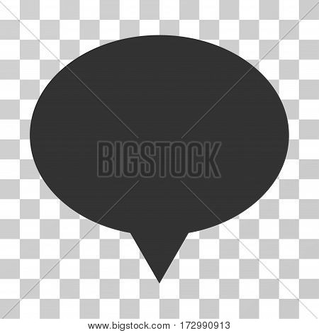 Banner vector pictogram. Illustration style is flat iconic gray symbol on a transparent background.