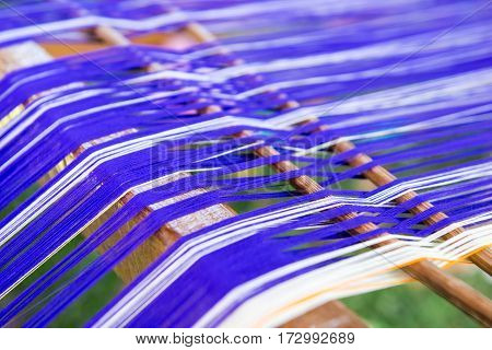 Abstract Colorful Threads