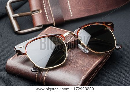 Closeup Luxury Sunglasses