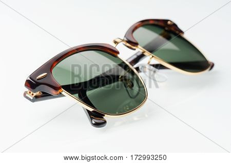 Closeup Luxury Sunglasses