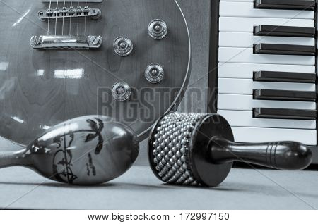Percussion and Electric guitar Accessories music  artistic, audio, background,