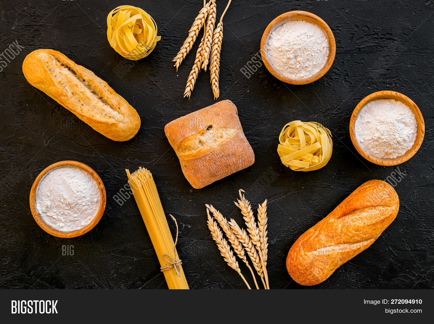 Products Made Wheat Image & Photo (Free Trial) | Bigstock