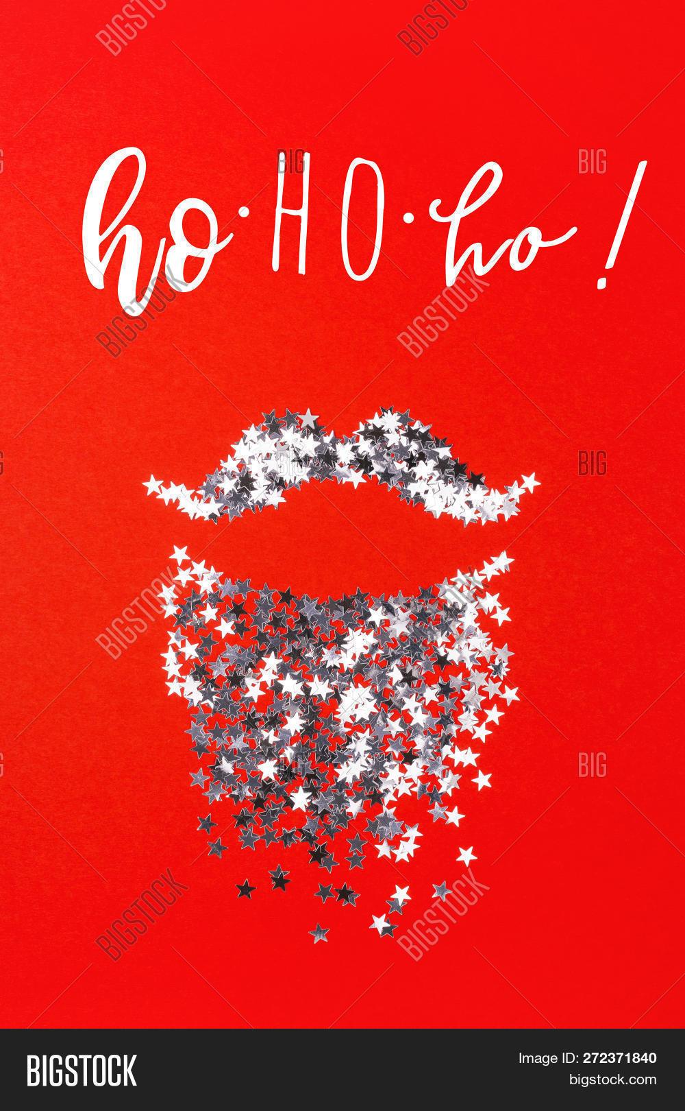 Ho Ho Ho Merry Christmas.Ho Ho Ho Merry Image Photo Free Trial Bigstock