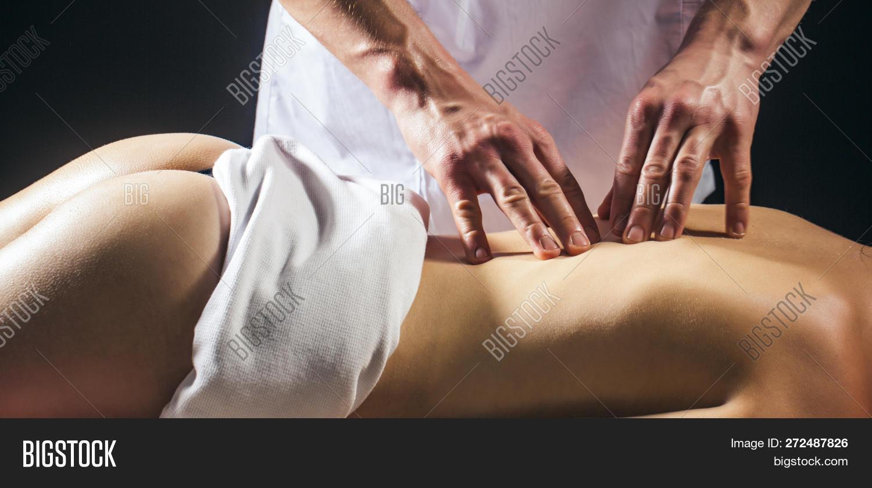 Sensual intimate massage