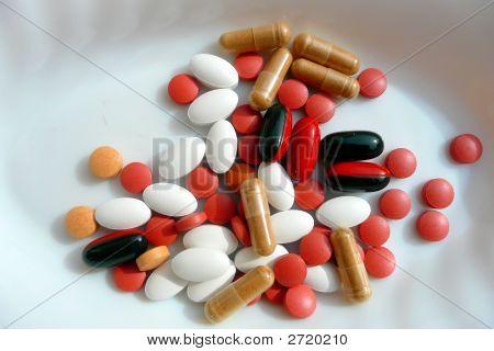 Pills, Tablets Or Medication