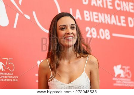 Martina Gusmn attends 'La Quietud' photocall during the 75th Venice Film Festival at Sala Casino on September 2, 2018 in Venice, Italy.