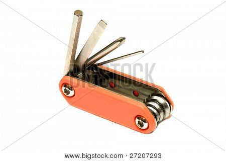 Tool-Box isolated on white background