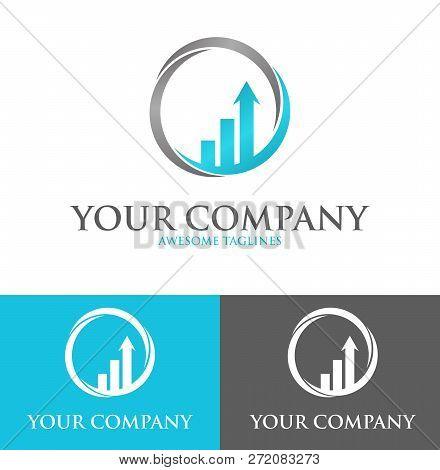 Success Solutions Logo Design Template Flat Style Design. Vector Illustration