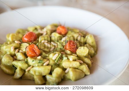 Homemade Gnocchi Is A Italian Pasta Made Of Potato