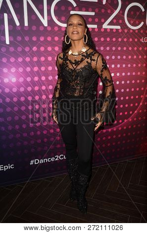 LOS ANGELES - DEC 1:  Cindy Herron at the amfAR Dance2Cure Kickoff Event at the Bardot on December 1, 2018 in Los Angeles, CA