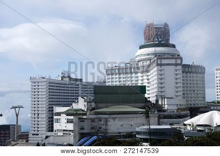 Genting Highland, Malaysia - Dec 03, 2018 : View Of Resort World Genting At Genting Highlands, Malay