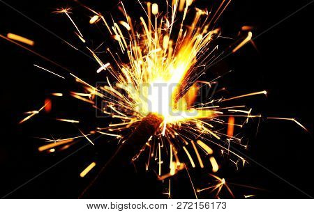 Sparklers A Sparkler Is A Type Of Hand-held Firework That Burns Slowly While Emitting Colored Flames