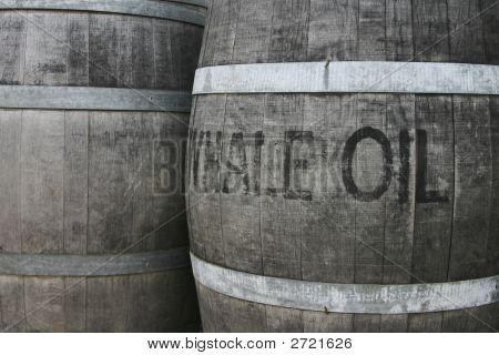 Barrels Of Whale Oil