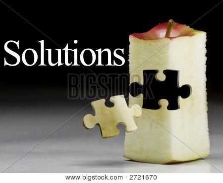 Lösung Erfolg; Marketing Apple Obst