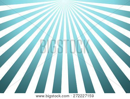 Sun Rays Background. Abstract Blue Sun Rays Background