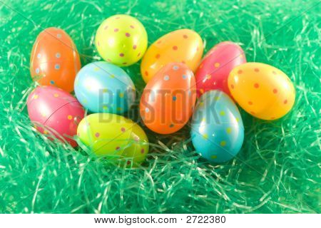 Eggs In A Nest.