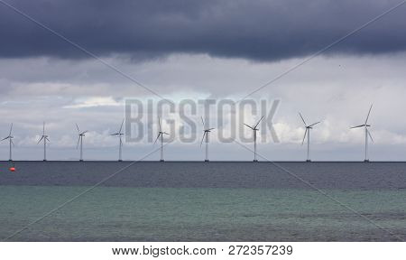 Offshore Wind Power In The Oeresund Chanel