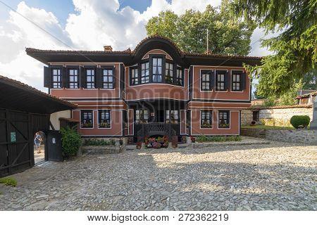 koprivshtitsa, Bulgaria, August 23, 2018: Todor Kableshkov House Museum in the historic city of Kopr