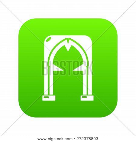 Archway Villain Icon. Simple Illustration Of Archway Villain Icon For Web