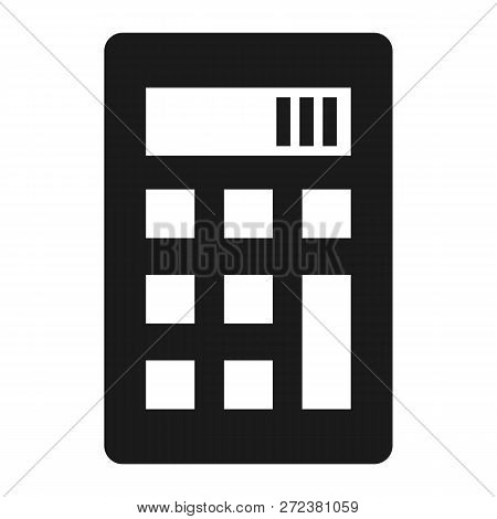 Science Calculator Icon. Simple Illustration Of Science Calculator Icon For Web Design Isolated On W