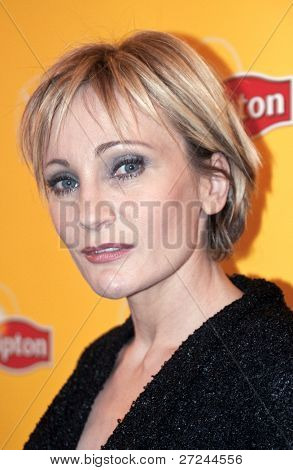 ST PETERSBURG, RUSSIA – NOVEMBER 26: Patricia Kaas, French singer at press conference for the Russian journalists, on November 26, 2009 in St Petersburg, Russia.