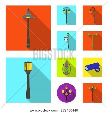 Vector Illustration Of Moon And Holiday Symbol. Collection Of Moon And Ramadan Vector Icon For Stock