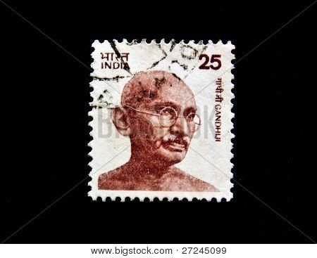 INDIA - CIRCA 1976: Mohandas Karamchand Gandhi, circa 1976.