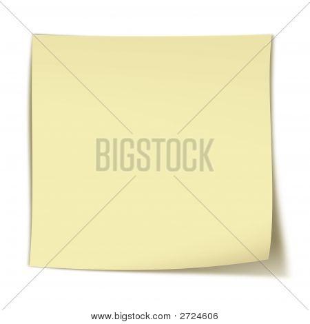 Blank Yellow Stinker