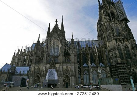Beautiful View Of Kölner Dom, Cologne Cathedral, Cologne, Germany