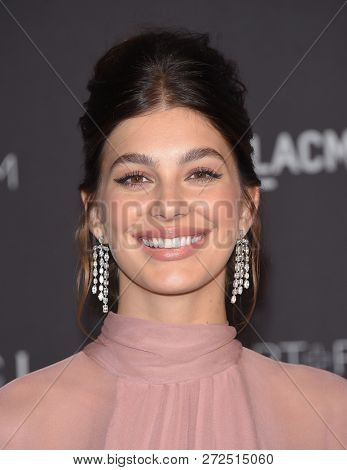 LOS ANGELES - NOV 03:  Camila Morrone arrives to the 2018 LACMA Art + Film Gala  on November 3, 2018 in Hollywood, CA