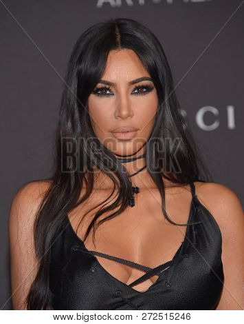 LOS ANGELES - NOV 03:  Kim Kardashian arrives to the 2018 LACMA Art + Film Gala  on November 3, 2018 in Hollywood, CA