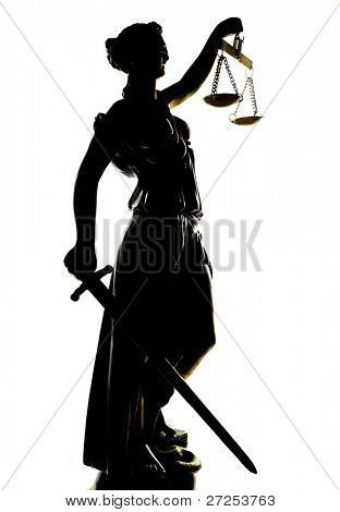Antique Statue of justice