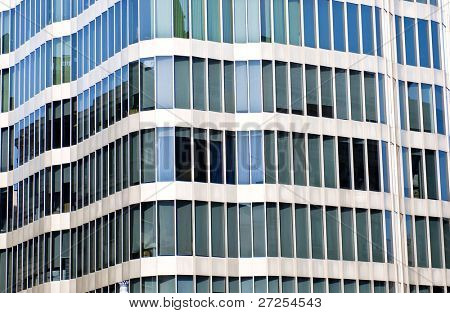 Abstract Architectural Detail of an Office Block