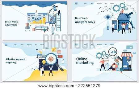Online Marketing, Best Web Analytics Tools, Effective Keyword Targeting Tools, Social Media Advertis