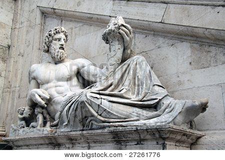 Statua Tevere