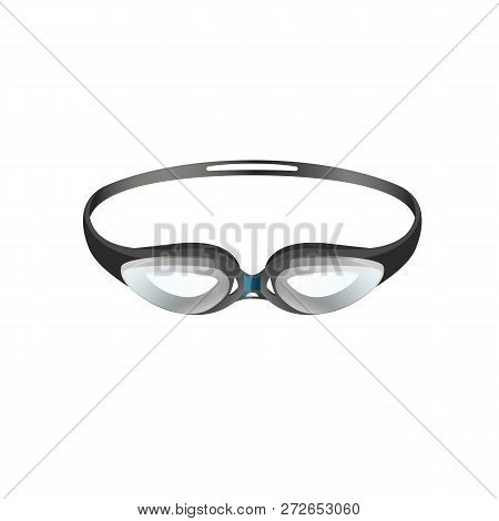 1de531b276a8 Swimming Goggles For Professional Sport Flat Icon. Swimming Pool