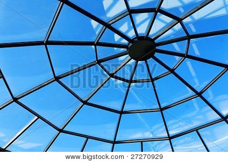Sunroof of a shopping mall
