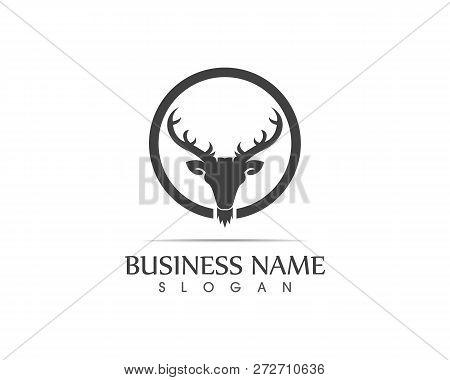 Deer Head Silhouette Vector & Photo (Free Trial) | Bigstock