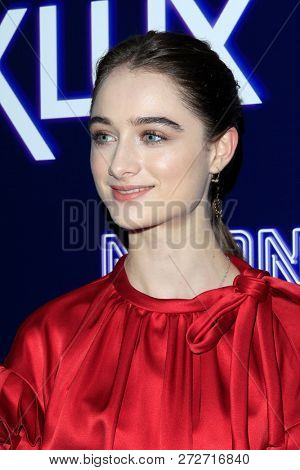 LOS ANGELES - DEC 5:  Raffey Cassidy at the
