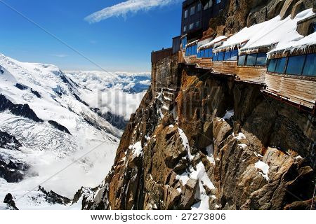 Aiguille du Midi, haute Savoie, Frankreich
