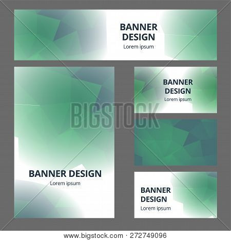 Vector stationary mockup set of realistic office objects with abstract design brand identity. White stationery set items for brand identity and logo presentation poster