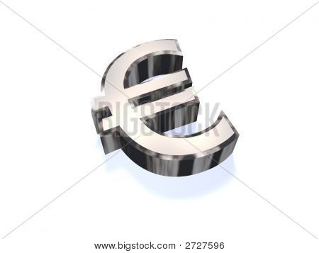 Chrome Euro Sign