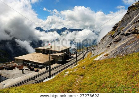 Eiger Gletscher Railwaystation, Switzerland