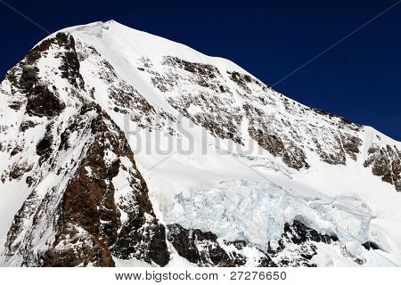 Monch Peak (4107m), Berner Oberland, Switzerland - UNESCO Heritage