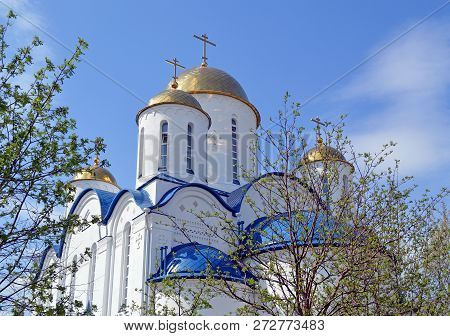 Temple In Honor Of The Triumph Of Orthodoxy In Altufevo, Moscow