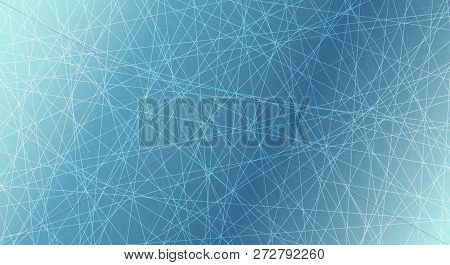 Ice Rink. Winter Background. Overhead View. Vector Illustration