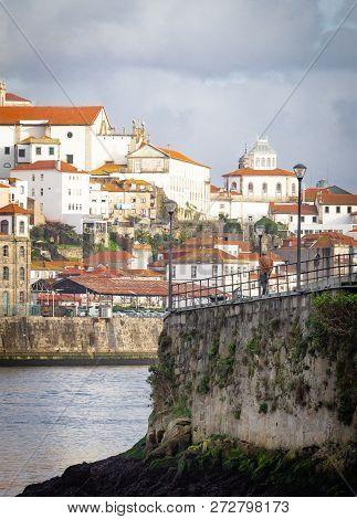 Senior Man Contemplates Porto