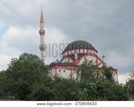 The Trees Arount The Mosque And The Turkey Zonguldak Eregli