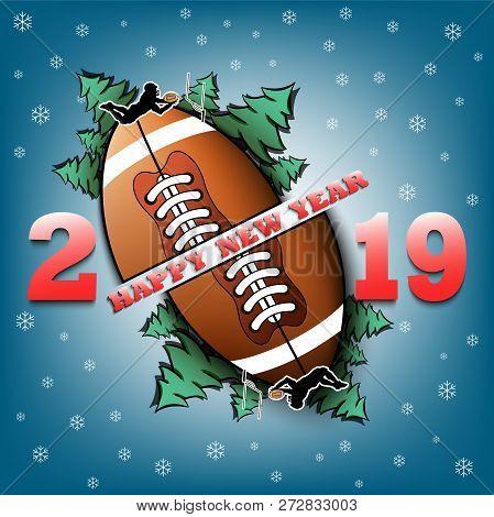 Happy New Year 2019 Vector Photo Free Trial Bigstock